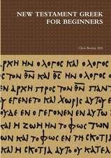 New Testament Greek for Beginners