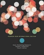 Basic Marketing Research: Pearson New International Edition