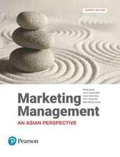Kotler, P: Marketing Management, An Asian Perspective