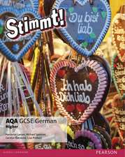 Stimmt! AQA GCSE German Higher Student Book