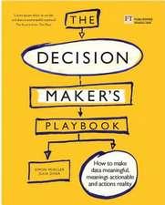 Decision Maker's Playbook