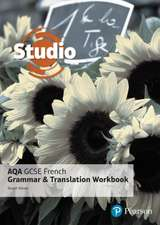 Studio AQA GCSE French Grammar and Translation Workbook