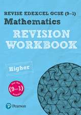 Pearson Edexcel GCSE (9-1) Mathematics Higher tier Revision