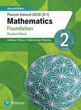 Pearson Edexcel GCSE (9-1) Mathematics Foundation Student Book 2