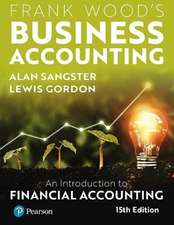 Frank Wood's Business Accounting 15th Edition