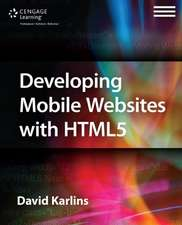 Developing Mobile Websites with HTML5
