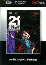 21st Century Reading with TED Talks Level 2  Audio CD & DVD