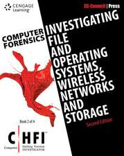 Computer Forensics:  Investigating Hard Disc/File/Operating Systems