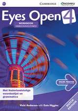 Eyes Open Level 4 Workbook with Online Practice (Dutch Edition)