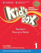 Kid's Box Level 1 Teacher's Resource Book with Online Audio American English