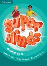 Super Minds Level 3 Wordcards (Pack of 83)