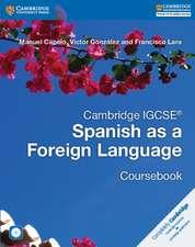 Cambridge IGCSE® Spanish as a Foreign Language Coursebook with Audio CD