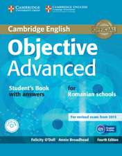Objective Advanced Student's Book with Answers with CD-ROM Romanian Edition
