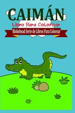 Caiman Libro Para Colorear