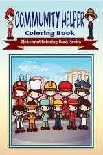 Community Helper Coloring Book