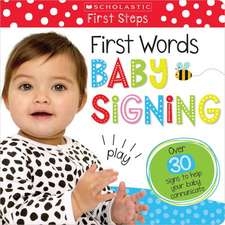 Touch and Feel Baby Signs (Scholastic Early Learners)