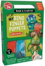 Klutz Jr My Dino Finger Puppet