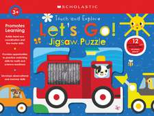 Let's Go! Jigsaw Puzzle (Scholastic Early Learners)
