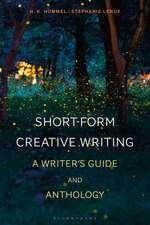 Short-Form Creative Writing