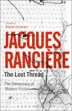 The Lost Thread: The Democracy of Modern Fiction