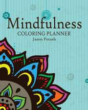Mindfulness Coloring Planner
