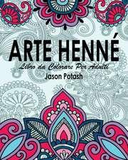 Arte Henne Libro Da Colorare Per Adulti