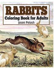 Rabbits Coloring Book for Adults