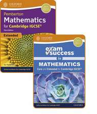 Pemberton Mathematics for Cambridge IGCSE®: Student Book & Exam Success Guide Pack