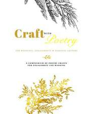 Craft with Poetry - For Weddings, Engagements & Personal Letters
