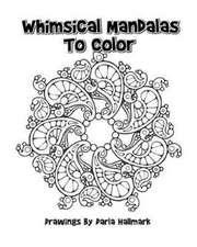 Whimsical Mandala Designs to Color