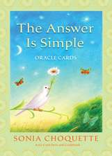 The Answer Is Simple Oracle Cards [With Guidebook]