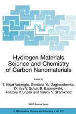 Hydrogen Materials Science and Chemistry of Carbon Nanomaterials: Proceedings of the NATO Advanced Research Workshop on Hydrogen Materials Science an Chemistry of Carbon Nanomaterials, Sudak, Crimea, Ukraine, September 14-20, 2003