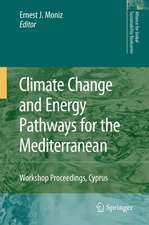 Climate Change and Energy Pathways for the Mediterranean: Workshop Proceedings, Cyprus