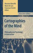 Cartographies of the Mind: Philosophy and Psychology in Intersection