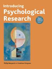 Introducing Psychological Research