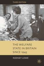 The Welfare State in Britain since 1945