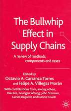 The Bullwhip Effect in Supply Chains: A Review of Methods, Components and Cases