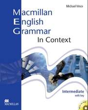 Vince, M: Macmillan English Grammar In Context Intermediate