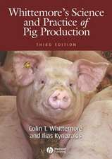 Whittemore′s Science and Practice of Pig Production