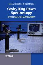 Cavity Ring–Down Spectroscopy: Techniques and Applications