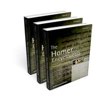 The Homer Encyclopedia: 3 Volume Set