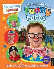 Something Special Mr Tumble's Funny Faces Sticker Book