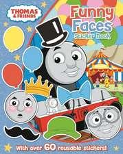 Egmont Publishing UK: Thomas The Tank Engine Funny Faces Sti