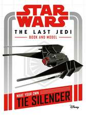 Star Wars The Last Jedi Book and Model