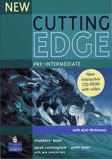 Cutting Edge Pre-intermediate New Editions Student's Book