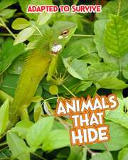 Adapted to Survive: Animals that Hide