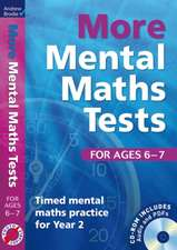 More Mental Maths Tests for ages 6-7
