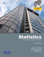 Statistics for Business and Economics:International Edition Plus MathXL 12Month Student Access Kit 11/e