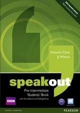 Speakout Pre-Intermediate Student's Book + DVD