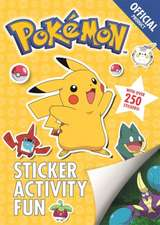 The Official Pokemon Sticker Activity Fun